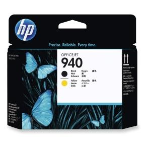 Druckkopf HP C4900A - 940, schwarz + gelb