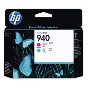 Druckkopf HP C4901A - 940, cyan + magenta
