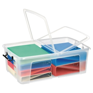 Cep Strata plastic opbergdoos multifonctioneel 50 liter 70x23x45cm