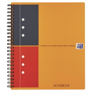 Cahier Oxford international activebook A5+ ligne