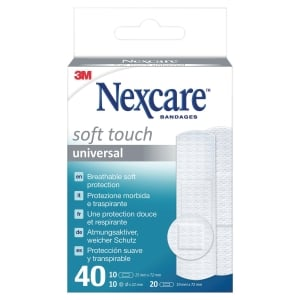 3M Nexcare N0540AS pansements sensitives assorti - boîte de 40