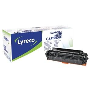 Lyreco compatibele HP CC530A laser cartridge nr.304A zwart [3.500 pagina s]