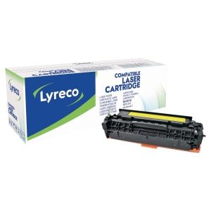 Toner laser LYRECO amarelo compativel com CC532A HP LJ CP2025 e CM2320 Series