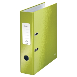 Leitz 180 WOW Green A4 Lever Arch File