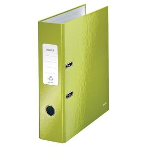 Leitz WOW ordner 180° 80mm groen