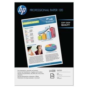 Ramette de 250 feuilles papier photo laser HP professionel brillant A4 120g