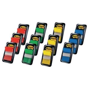 Pack de 10+2 dispensadores Post-it Index 1   cores surtidas (50 x dispensador)