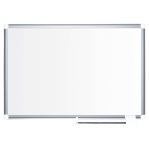 Bi Office Premium enamel magnetic whiteboard 90x120 cm
