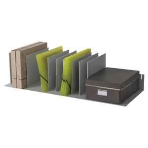 Módulo organizador 10 separador móveis PAPERFLOW dimensões: 858x233x323mm