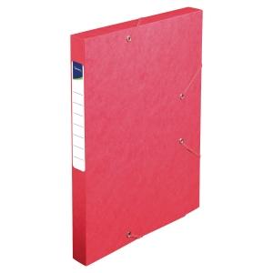 Arkivæske Lyreco 2,5 cm ryg rød