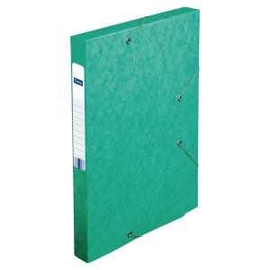 Arkivæske Lyreco 2,5 cm ryg grøn