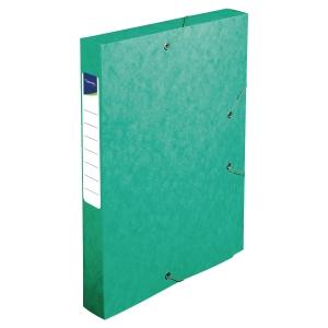 Lyreco boîte de classement carton dos de 4cm vert