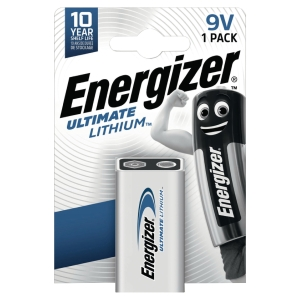 Energizer Ultimate litiumparisto 9V