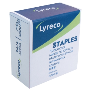 Lyreco staples 24/6 - box of 5000