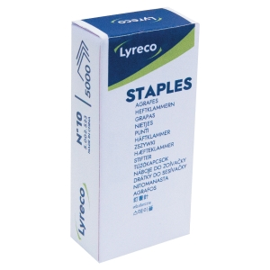 LYRECO STAPLES N°10  - BOX OF 5,000