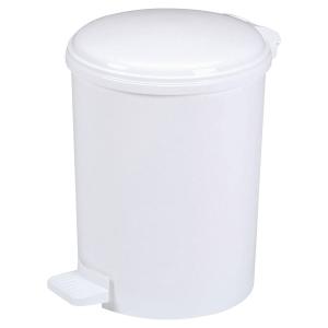 Caixote sanitário com pedal ROSSIGNOL em polipropileno 20l branco