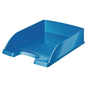 Briefkorb Leitz 5226 WOW, stapelbar, Maße: 255 x 360 x 70mm, blau