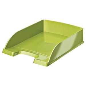 Briefkorb Leitz 5226 WOW, stapelbar, Maße: 255 x 360 x 70mm, grün