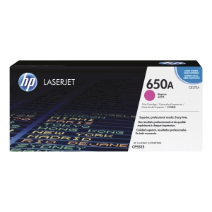 HP 650A (CE273A) toner cartridge, magenta