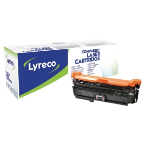 Lasertoner Lyreco kompatibel HP CE253A magenta