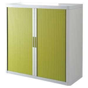 Paperflow cupboard 110x104,5x41,5cm green/white