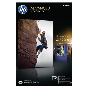 HP ADVANCED PHOTO PAPER Q8691A - PACK OF 25 SHEETS