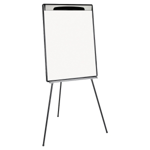 Chevalet de conference trepied Design Bi-Office surface d ecriture 70x100cm