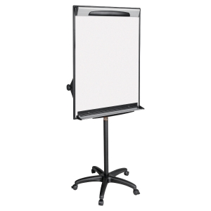 Chevalet de conference design mobile Bi-Office surface d ecriture 70x100cm