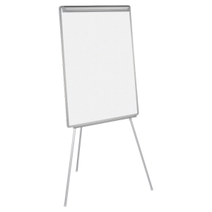 CHEVALET DE CONFERENCE EASY BI-OFFICE NON MAGNETIQUE SURFACE D ECRITURE 70X102CM