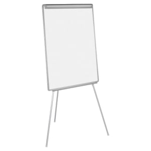 CHEVALET DE CONFERENCE EASY BI-OFFICE MAGNETIQUE SURFACE D ECRITURE 70X102CM
