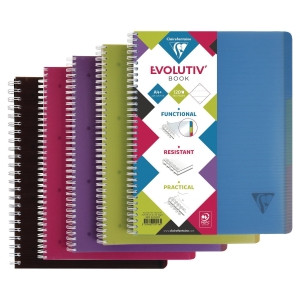 CLAIREFONTAINE LINICOLOR 스프링노트 라인 329156 A4+ 120매