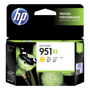 HP CN048AE inkjet cartridge nr.951XL geel [1.500 pagina s]