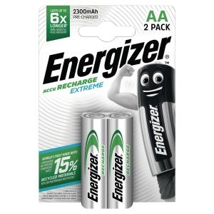 Akku Energizer 634998, Mignon, HR06/AA, 1,2 Volt, 2300mAh, 2 Stück