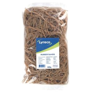 Elastikker Lyreco, 180 x 2 mm, æske a 500 g