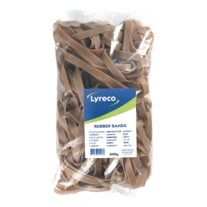 Lyreco elastieken 180x10mm - doos van 500g