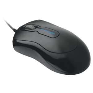 Kensington Mouse-in-a-Box computer mouse optical black - wired