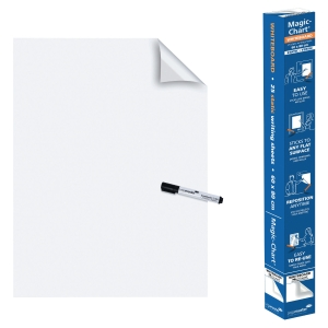 Legamaster 159100 Magic Chart whiteboard on roll - white