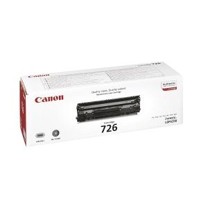 Canon 726Bk Toner Cartridge Black