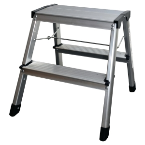 Safetool Aluminium-Hockertreppe