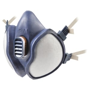 DEMI MASQUE ANTI GAZ FFA1P2R D 3M 4251 A FILTRES INTEGRES REUTILISABLE
