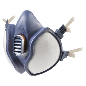 3M 4251 maintenance free half mask respirator reusable