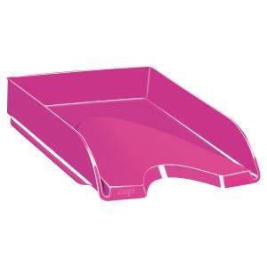 Bandeja de sobremesa rosa CEPPRO GLOSS Dimensiones: 257x66x348mm