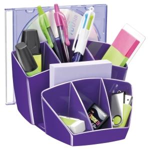 Organisateur de bureau Cep Gloss - violet