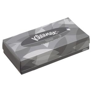 Boite rectangulaire de 100 mouchoirs kleenex 8835 2 plis blanc