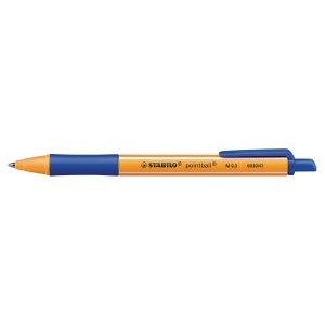 Kugelschreiber Stabilo Pointball 6030, Strichstärke: 0,5mm, blau