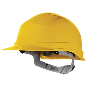 Delta Plus Zircon safety helmet yellow
