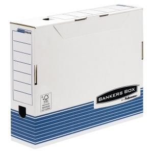 Bankers box archiefdozen 100 mm blauw A3 formaat - pak van 10