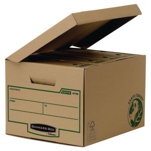 Bankers Box Earth Series opbergdoos 34 x 26,9 x 40 cm - pak van 10