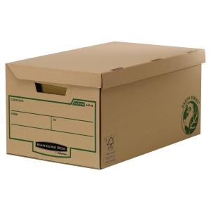 Archivační box s uzavíráním Bankers Box Earth Series, maxi 28,7 x 37,8 x 56 cm