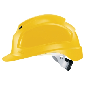 Uvex Pheos B-WR safety helmet yellow